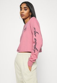 BDG Urban Outfitters - SOLAR CROP - Long sleeved top - pink - 3