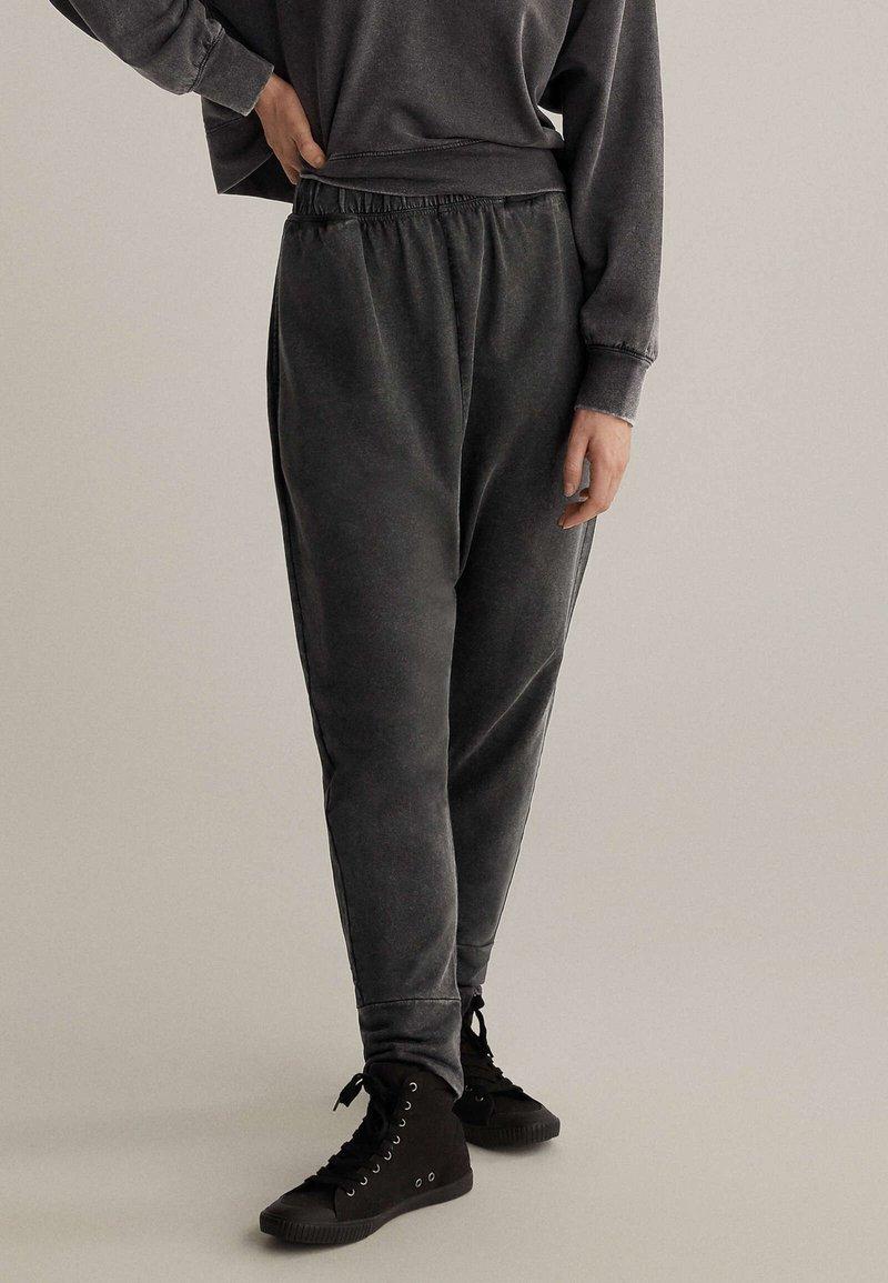 OYSHO - Kalhoty - dark grey