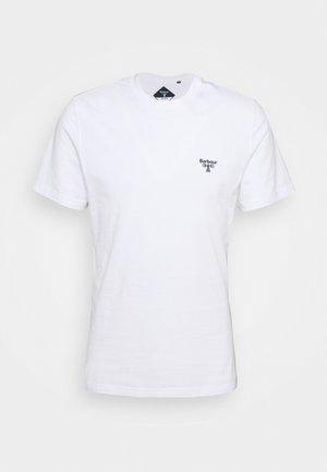 SMALL LOGO TEE - T-Shirt basic - white
