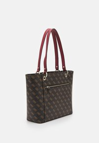 Guess - NOELLE ELITE TOTE - Håndveske - brown - 1