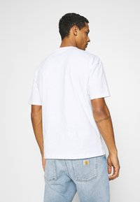 9N1M SENSE - FLOWERS UNISEX - Print T-shirt - white - 2