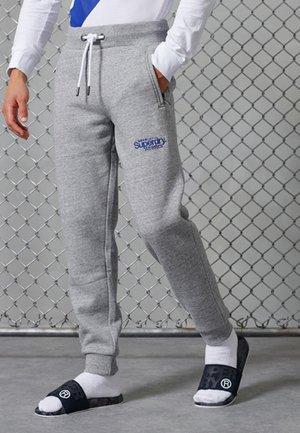 CORE LOGO ATHLETICS - Pantalones deportivos - soft grey marl