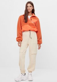 Bershka - Winter jacket - orange - 1