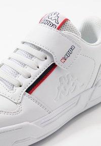 Kappa - MARABU II - Scarpe da fitness - white/red - 2