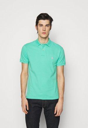 SHORT SLEEVE KNIT - Poloshirt - sunset green