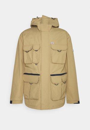 MULTI POCKET JACKET - Summer jacket - classic khaki
