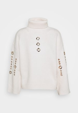 GUYANA SWEATER - Sweter - white