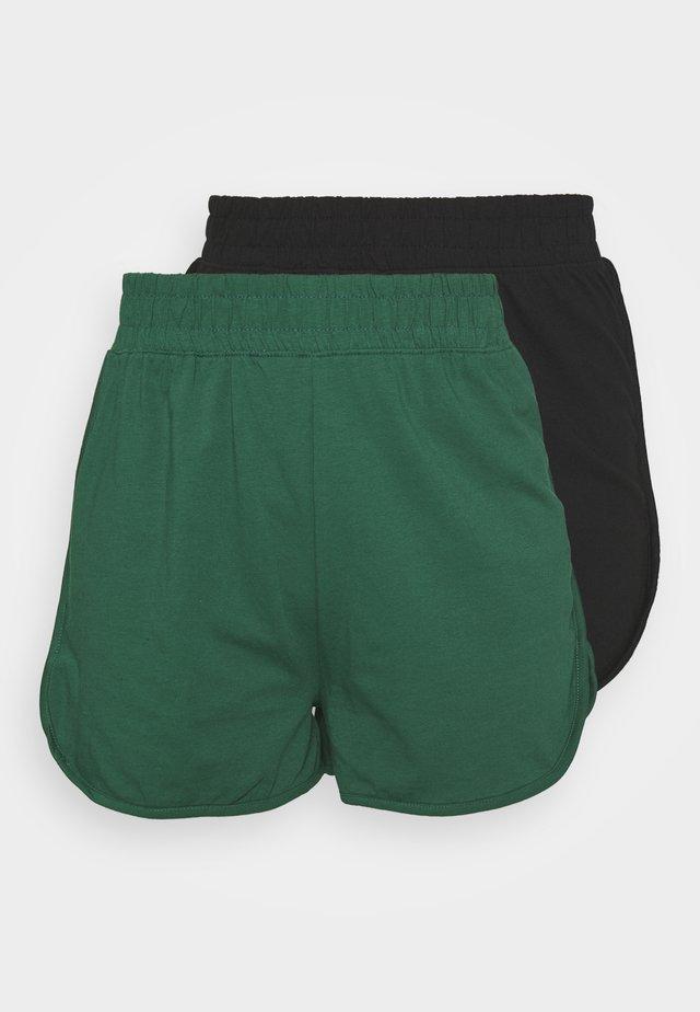 RUNNER 2 PACK - Pantaloni sportivi - black/green