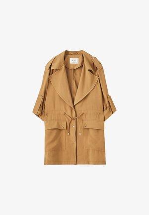Short coat - camel