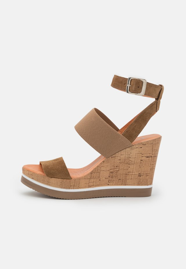 MARY - High heeled sandals - marvin/stone