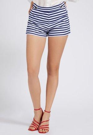 Shorts - mehrfarbig, weiß