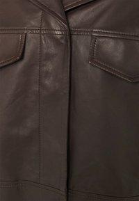 RIANI - Leather jacket - onyx brown - 2