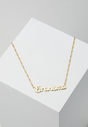 GRANDMA NECKLACE - Necklace - gold-coloured