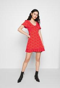 Molly Bracken - LADIES DRESS - Denní šaty - sweet red - 1
