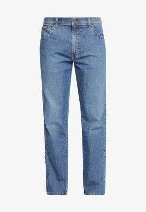TEXAS - Straight leg jeans - mistral green
