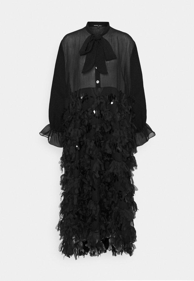 Sister Jane - RUFFLE READY BOW MIDI DRESS - Cocktail dress / Party dress - black