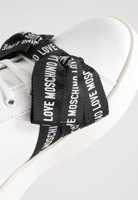 Love Moschino - Trainers - white - 2
