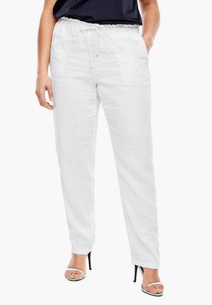 MIT TUNNELZUG - Trousers - white