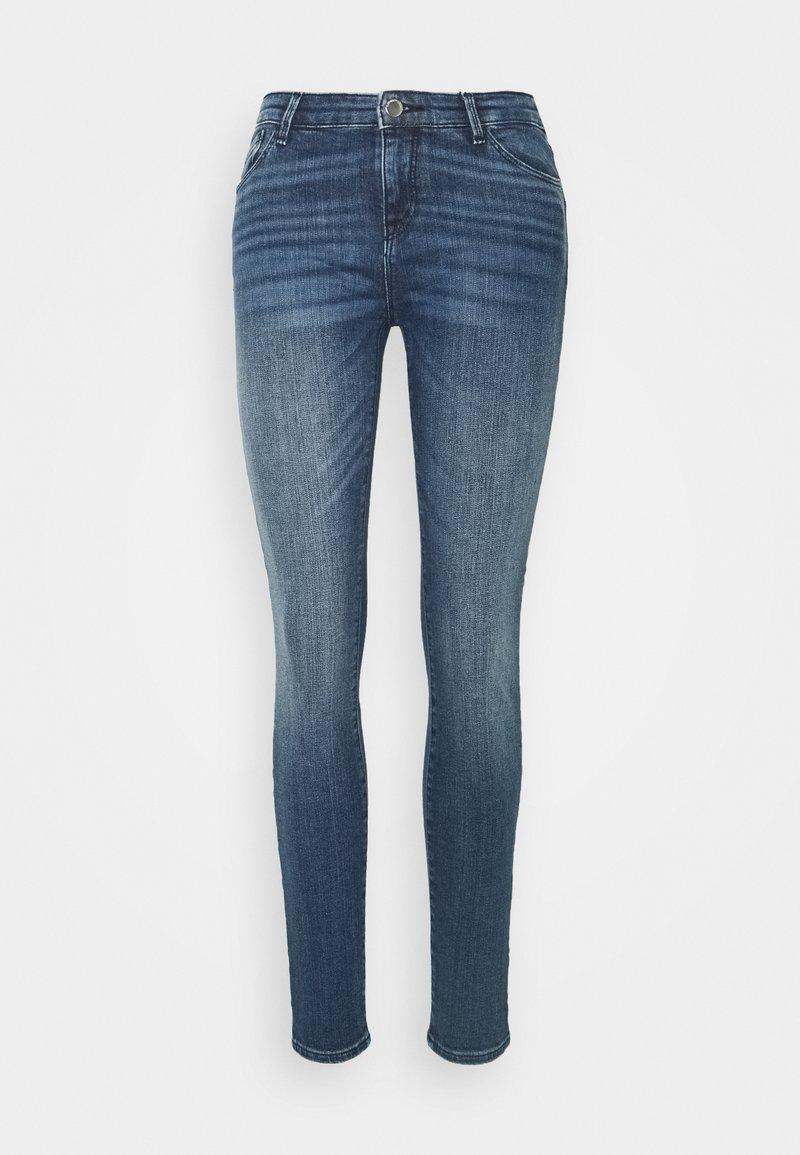 Emporio Armani - FIVE POCKETS PANT - Jeans Skinny Fit - denim blue