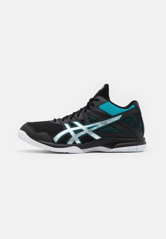 GEL-TASK 2 MT - Chaussures de handball - black/lagoon