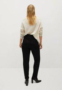 Violeta by Mango - SICILIA - Trousers - schwarz - 2
