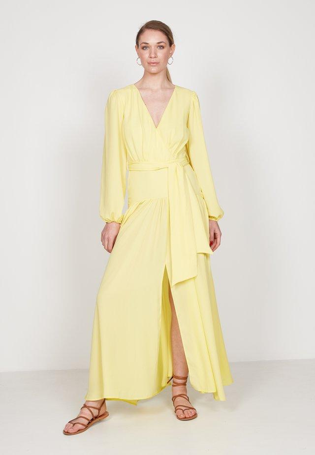 Maxi-jurk - yellow