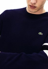 Lacoste - AH8544 - Sweatshirt - navy blue/black/white/yellow - 2