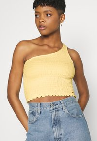 Hollister Co. - ONE SHOULDER  - Topper - yellow - 3