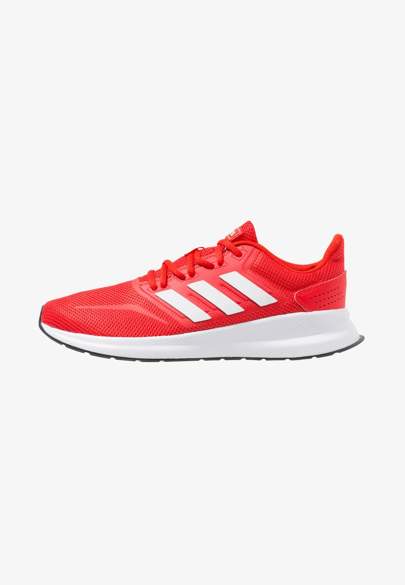 adidas Performance - RUNFALCON - Neutral running shoes - active red/footwear white/core black