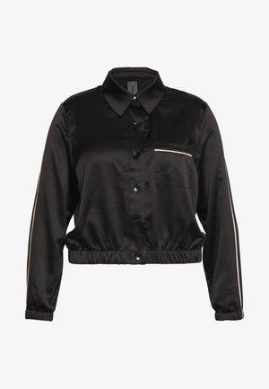 FASHION CROPPED TOP - Pyžamový top - black