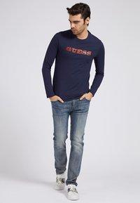 Guess - Long sleeved top - blau - 1