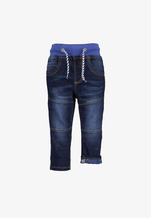 DINOS HIDING - Jeans slim fit - dk blau