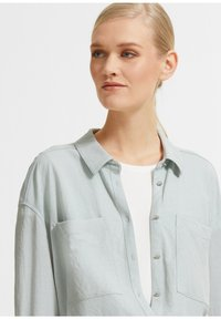 comma - Button-down blouse - light green - 3