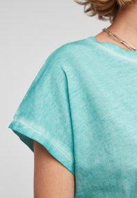 Q/S designed by - Basic T-shirt - turquoise - 4
