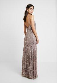 Maya Deluxe - EMBELLISHED CAMI MAXI DRESS - Suknia balowa - dusty purple - 3