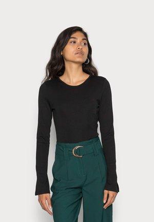 ESTELLE - Long sleeved top - black