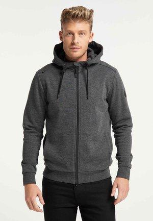 SANEL PROTECT - Zip-up hoodie - black