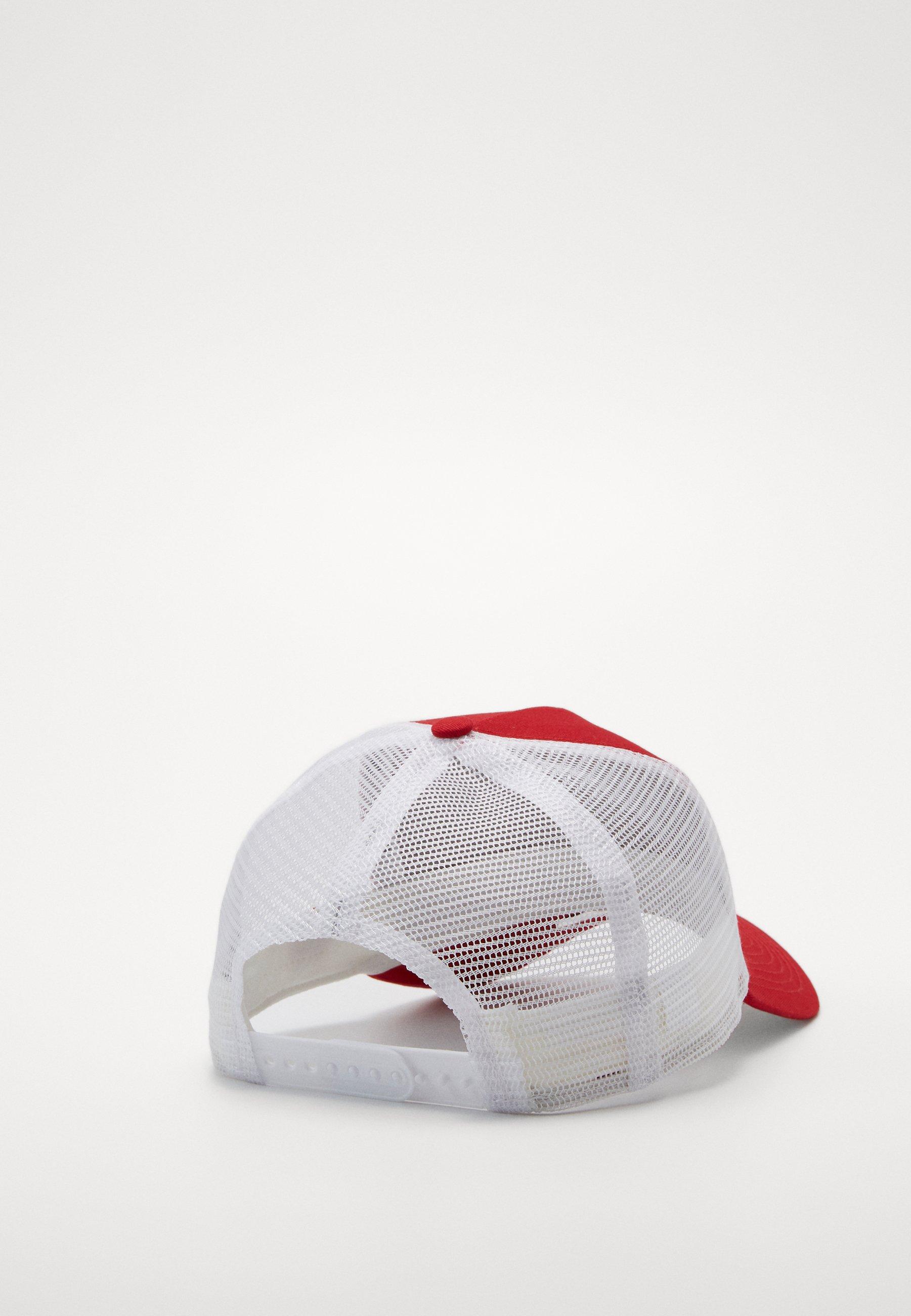 New Era Clean Trucker Neyyan - Cap Scarlet/white/rot