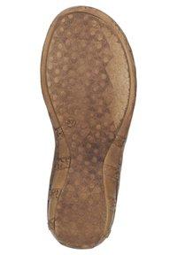 Comfortabel - Ankle strap ballet pumps - blau - 3