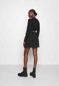 Calvin Klein Jeans - LOGO WAISTBAND SKIRT - A-line skirt - black - 2