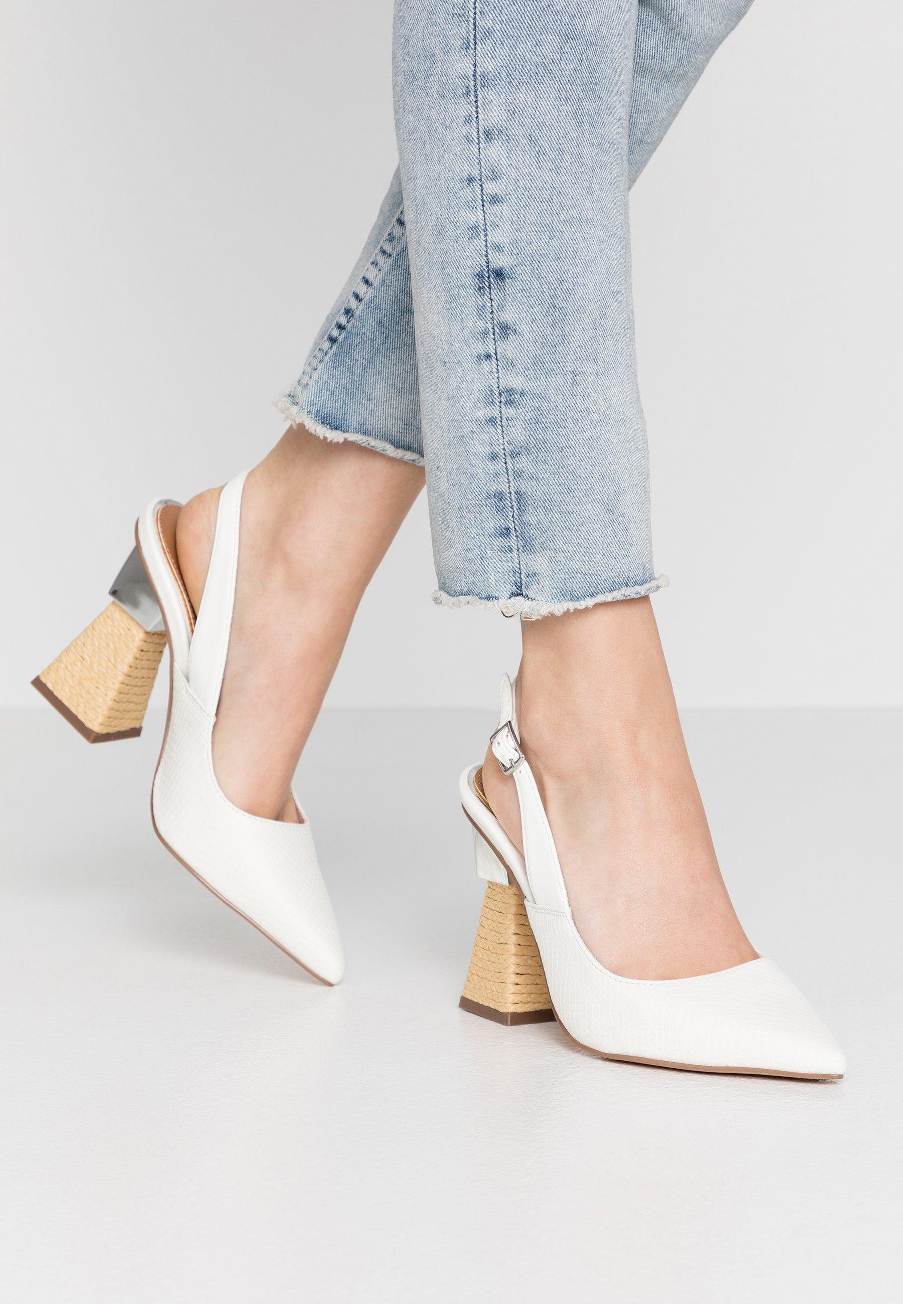 River Island Escarpins à talons hauts - white - Chaussures à talons femme Classique