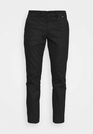 SHERBURN - Trousers - black