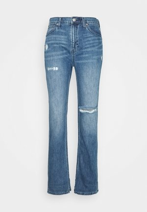BOYFRIEND CLAVEL DEST - Jeansy Relaxed Fit - dark indigo