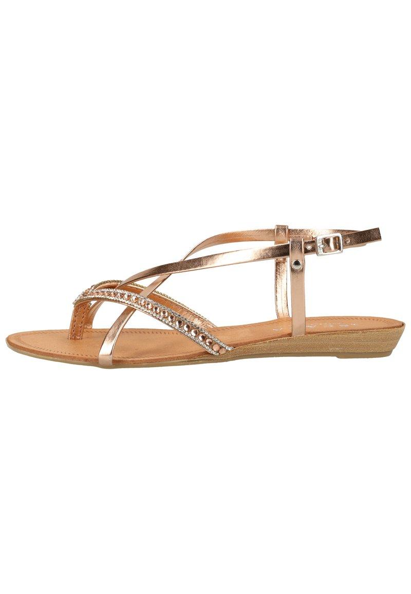 Scapa - SCAPA ZEHENSTEG - Sandals - rame/magnolia 490