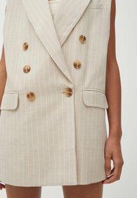PULL&BEAR - Waistcoat - beige - 4
