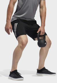 adidas Performance - 4KRFT 3-STRIPES 9-INCH SHORTS - Sports shorts - black - 3