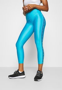 Under Armour - ANKLE CROP - Punčochy - equator blue - 0