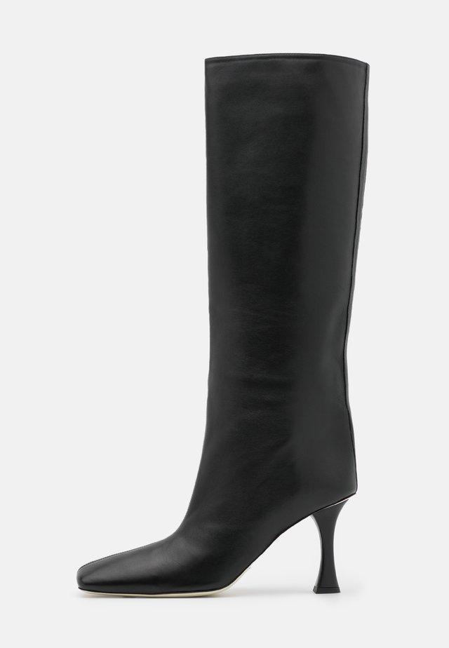 Stivali con i tacchi - nero