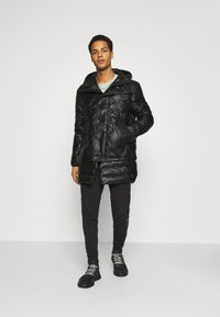 Diesel - CRAWFORD SHINY GIACCA - Winter coat - black - 1