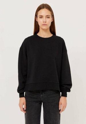 MIT SCHLITZEN  - Sweatshirt - black